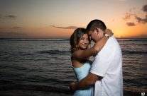 Perfect Sunset for Kauai Portrait Photography, Ke'e Beach, Kauai Hawaii
